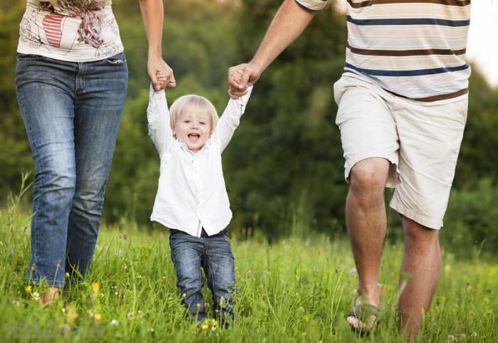 Organize the walk with children