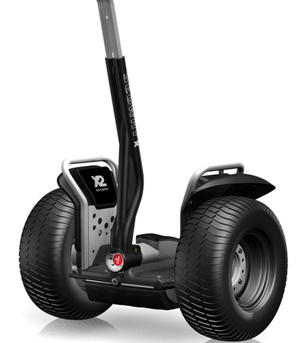 To ride a SEGWAY, a SEEV