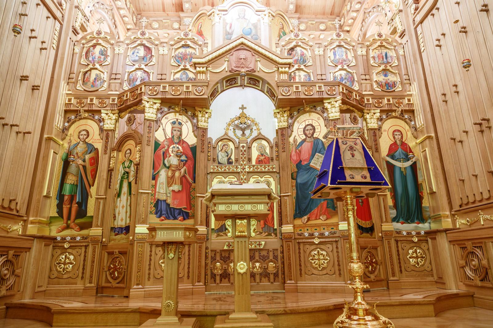 Християнські свята у Національному парку Межигір'я