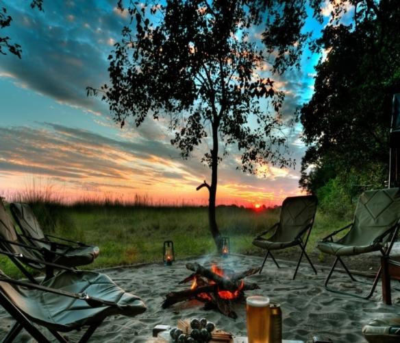 Camping at the Kiev Sea