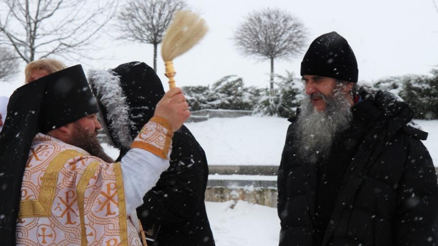 Свято Хрещення Господньго у Національному парку Межигір'я