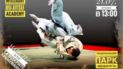 Мастер-класс и открытая тренировка по JIU-JITSU
