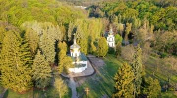 Освячення Митрополитом Епіфанієм Спасо-Преображенського храму Межигірського чоловічого монастиря